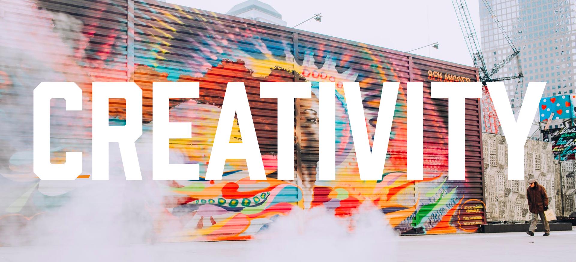 creativity typography